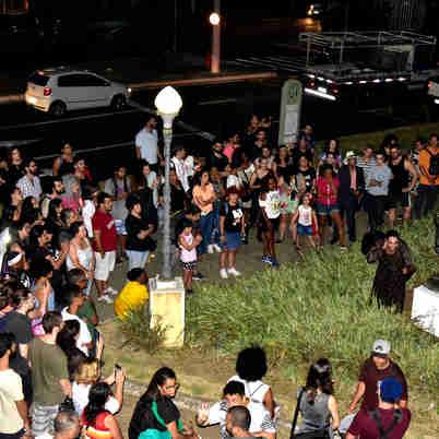 Data: 31/10/2019 - ES - Vitória - Caminhada cultural do Dia das Bruxas no Centro de Vitória - Editoria: Cidades - Foto: Fernando Madeira - GZ