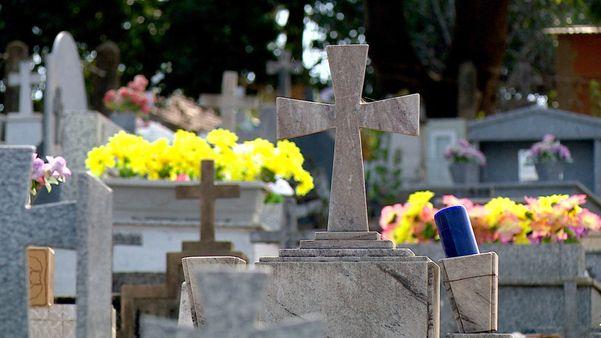 Cemitério de Itapina, em Colatina, no Noroeste do ES