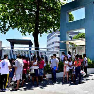 Data: 03/11/2019 - ES - Vitória - ENEM, campus da Faesa, em Vitória - Editoria: Cidades - Foto: Fernando Madeira - GZ