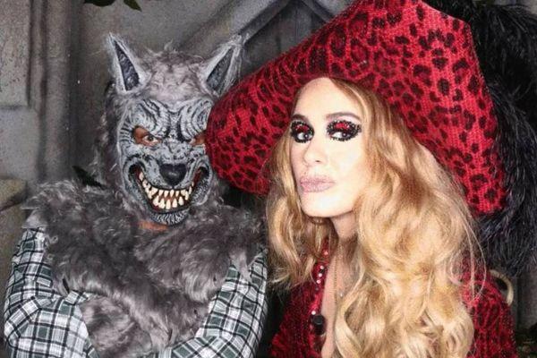 A cantora Adele Laurie Blue Adkins MBE, mais conhecida como Adele, durante festa de halloween. Crédito: Telltell Heart/Instagram