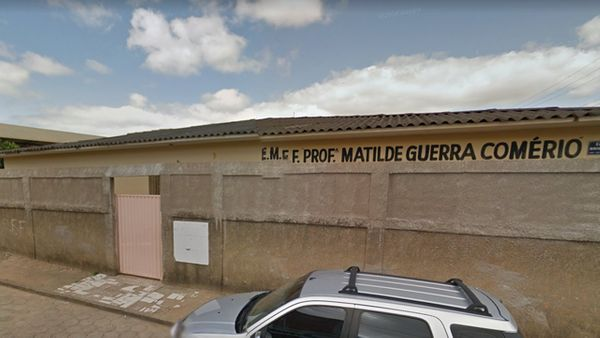 Escola Municipal de Ensino Fundamental Matilde Guerra Comércio, no bairro Santos Dumont, em Colatina. Crédito: Divulgação
