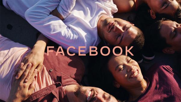 Facebook apresenta nova marca. Crédito: Reprodução/Facebook