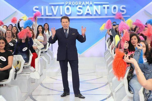 O apresentador e dono do SBT, Silvio Santos. Crédito: Reprodução/Instagram @pgmsilviosantos
