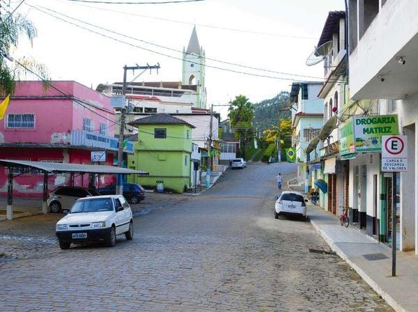 Divino de São Lourenço, na região do Caparaó, sul do Espírito Santo. Crédito: Ricardo Medeiros