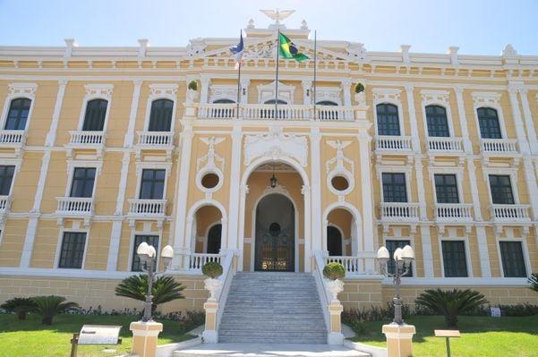 Palácio Anchieta: Sindipúblicos e Sindiupes já falam em colocar greve em votação. Crédito: Setur