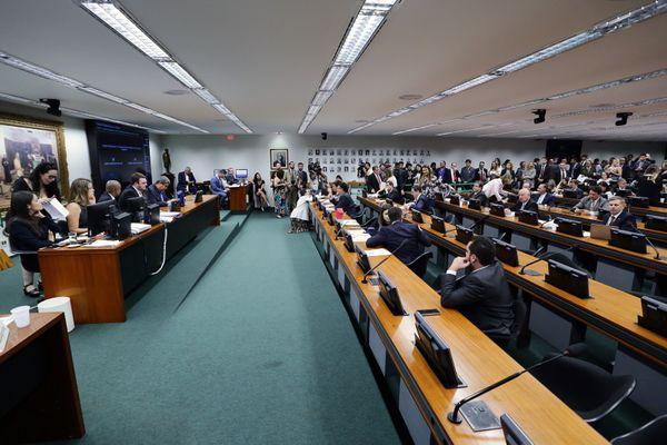 Reunião da CCJ. Crédito: Michel Jesus / Câmara dos Deputados