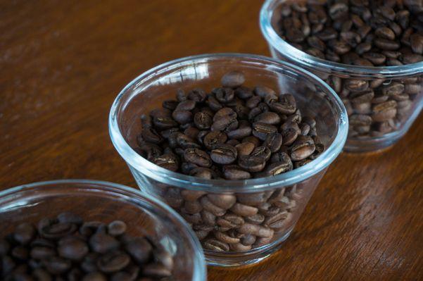 Grãos de café torrados. Crédito: Roberto Barros/Divulgação