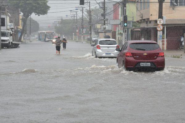 O bairro Cobilândia, Vila Velha, deve enfrentar menos alagamentos com as estações de bombeamento. Crédito: Ricardo Medeiros