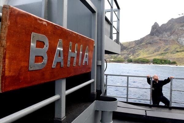 Navio Multipropósito Bahia, segunda maior embarcação da Marina do Brasil