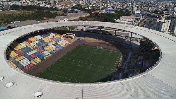 Estádio Kleber Andrade. Crédito: Bernardo Bracony/TV Gazeta