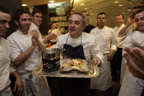 Ferran Adrià. Crédito: divulgação
