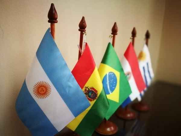 Países da America do Sul. Crédito: Pixabay