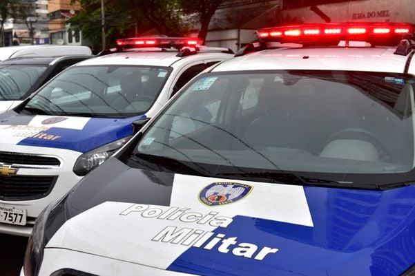 Viaturas da Polícia Militar do ES. Crédito: Fernando Madeira
