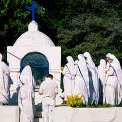 Religiosos demonstram sua fé na Prainha, em Vila Velha