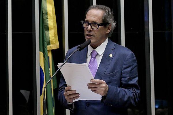 Luiz Pastore, suplente de Rose de Freitas no Senado. Crédito: Waldemir Barreto/Agência Senado
