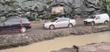 Obras e chuvas causam transtornos no trânsito no km 0 da rodovia Leste Oeste, em Cariacica. Crédito: Reprodução/Viviann Barcelos