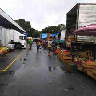 Ceasa em Cariacica: produtores rurais sofreram com os temporais