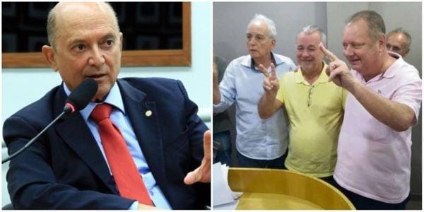 Em disputa interna e judicial, chapas de Lelo Coimbra e Marcelino Fraga querem a presidência do MDB. Crédito: Divulgação