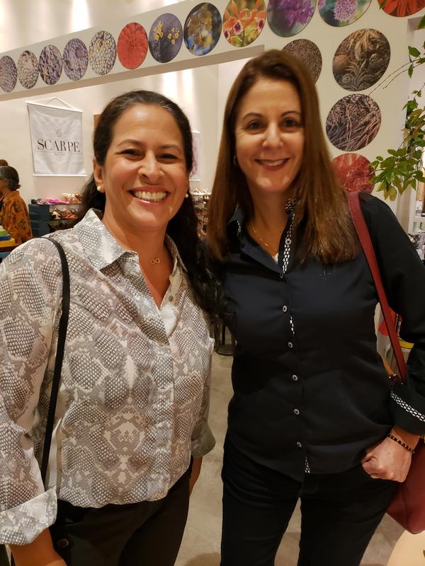 Flávia Carvalhinho e Luciana Coelho. Crédito: Mônica Zorzanelli