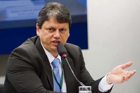 O ministro da Infraestrutra, Tarcísio Freitas. Crédito: Marcelo Camargo | Agência Brasil