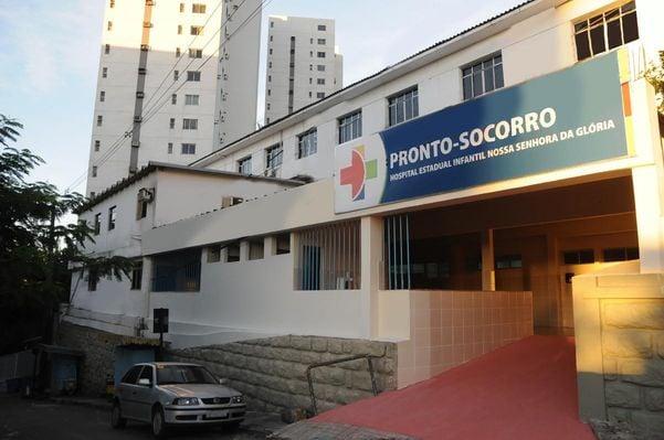 Fachada do Hospital Infantil de Vitória. Crédito: Sesa/Reprodução