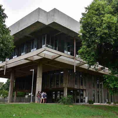 Data: 26/11/2019 - ES - Vitória - Biblioteca Central da UFES - Editoria: Cidades - Foto: Fernando Madeira - GZ