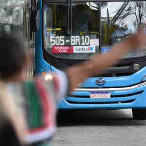 Data: 26/11/2019 - ES - Vitória - Ônibus do sistema Transcol