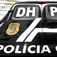 Data: 26/11/2019 - ES - Vitória - Viaturas da Delegacia de Homicídios e Proteção à Pessoa (DHPP)