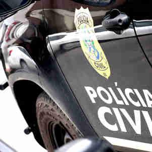 Data: 26/11/2019 - ES - Vitória - Viaturas da Polícia Civil