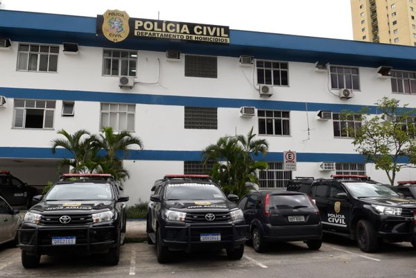 Sede do Departamento de Homicídios e Proteção à Pessoa (DHPP), da Polícia Civil, em Vitória. Crédito: Carlos Alberto Silva