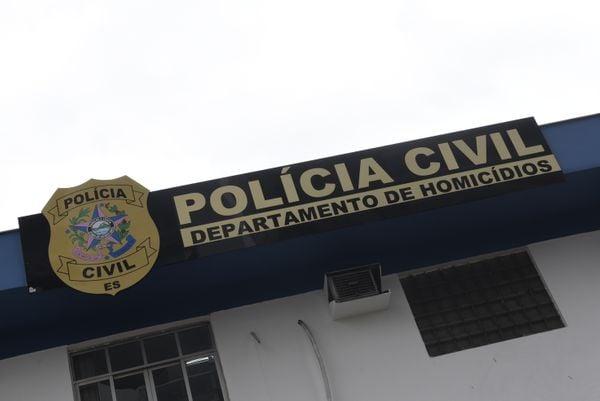 Data: 26/11/2019 - ES - Vitória - Sede da Delegacia de Homicídios e Proteção à Pessoa (DHPP). Crédito: Carlos Alberto Silva
