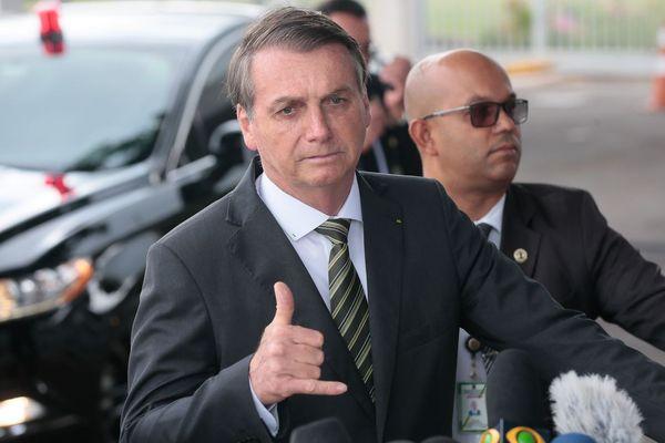 Jair Bolsonaro, presidente da República. Crédito: Antonio Cruz/Agência Brasil