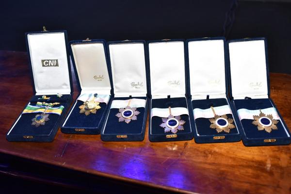 As medalhas do Encontro da Indústria. Crédito: Mônica Zorzanelli