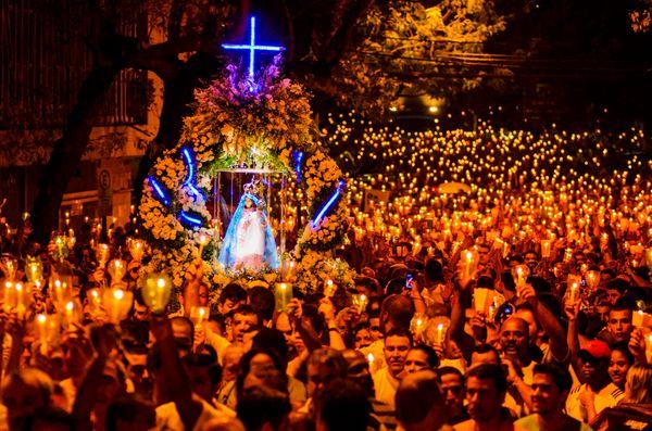 Brasil - Espirito Santo - Vitoria -  Romaria dos Homens durante a Festa da Penha - Foto: Gabriel Lordello/ Mosaico Imagem. Crédito: Gabriel Lordello/ Mosaico Imagem