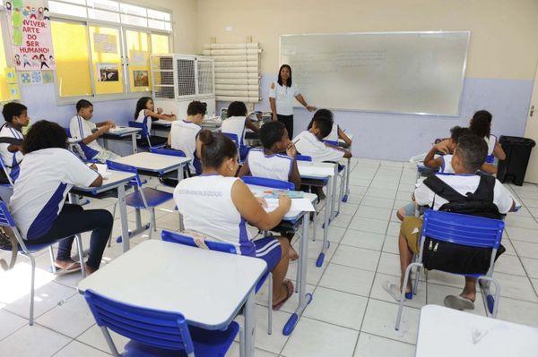 Educação básica. Crédito: Prefeitura de Vitória