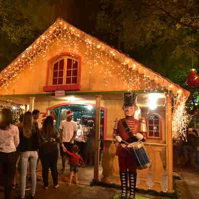 Natal no Parque Moscoso, em Vitória