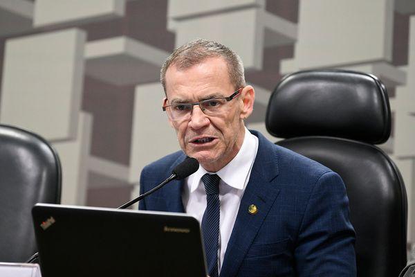 Senador Fabiano Contarato (Rede). Crédito: Pedro França