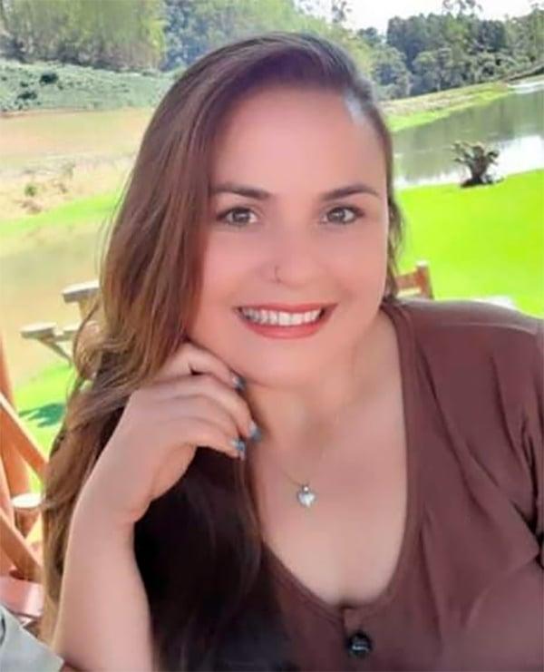 Thamires Mendes, agricultora assassinada em Vargem Alta. Crédito: Arquivo da família