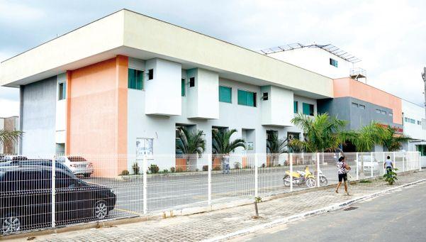 Hospital Menino Jesus, em Itapemirim. Crédito: Divulgação/HECI