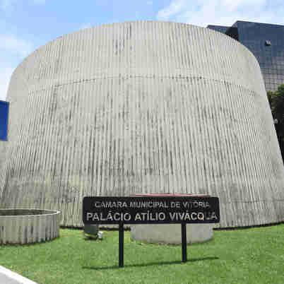 Data: 09/12/2019 - ES - Vitória - Sede da Câmara Municipal de Vitória - Editoria: Politica - Foto: Ricardo Medeiros - GZ