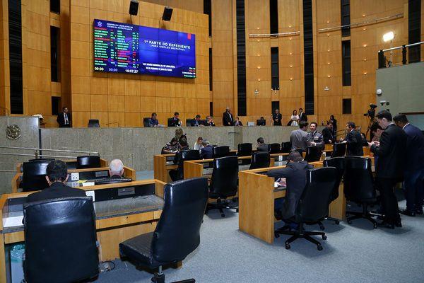 Plenário da Assembleia Legislativa do Espírito Santo aprovou projeto na tarde desta terça (17). Crédito: Tati Beling/Ales