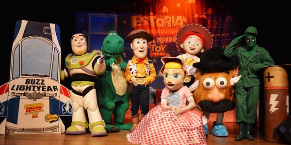 Musical do Toy Story. Crédito: Wellington Casarão