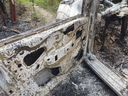 Carro de motorista de aplicativo é queimado durante sequestro