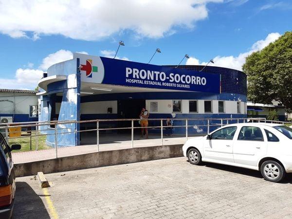 Vítimas foram encaminhadas para o Hospital Roberto Silvares. Crédito: Rapahel Verli