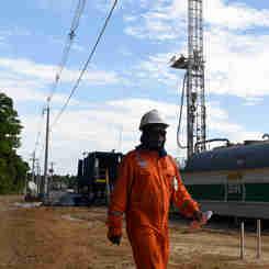 Data: 06/12/2019 - ES - Linhares - Estação de tratamento de petróleo da Petrobras Fazenda Alegre