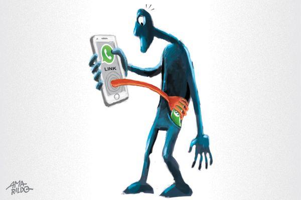 Número de golpes pelo WhatsApp está aumentando