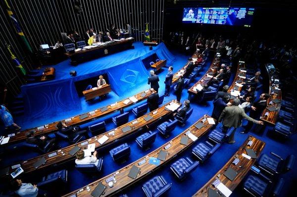 Plenário do Senado Federal, em Brasília. Crédito: Alessandro Dantas/ Agência Senado