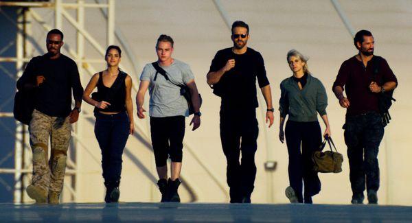 Corey Hawkins, Adria Arjona, Ben Hardy, Ryan Reynolds, Mélanie Laurent, Manuel Garcia-Rulfo em