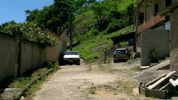 Local onde o genro foi morto,  em Viana . Crédito: Reprodução | TV Gazeta