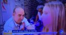 Repórter Cássia Carioca, da TV Rio Sul, desmaiou ao vivo. Crédito: Reprodução